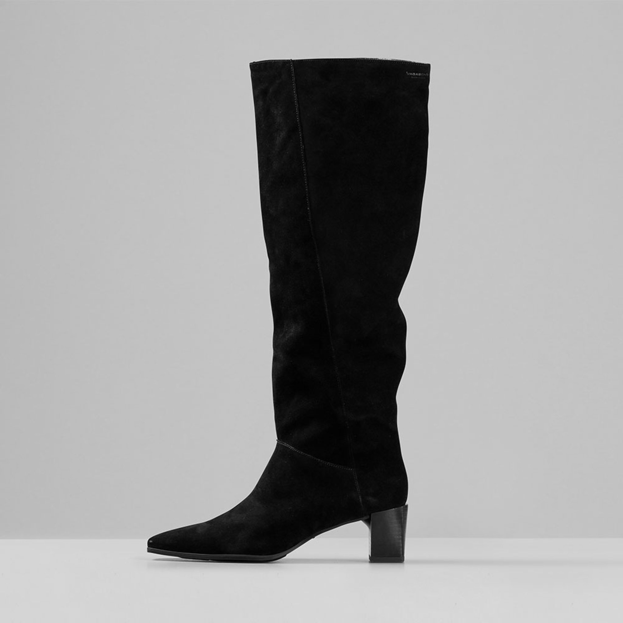 GABI Tall Boots with Heel, svart