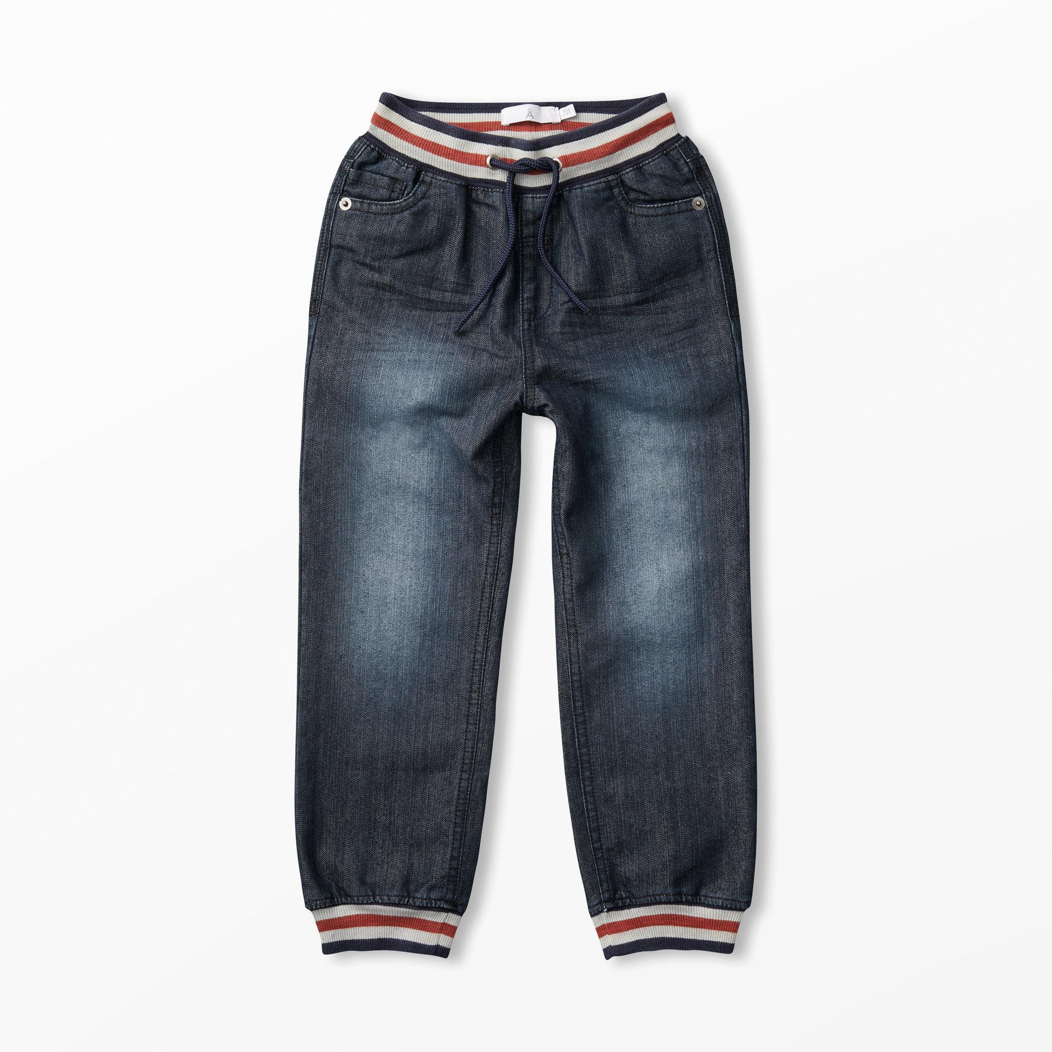 Jeans med knytresår - Barnkläder stl. 86-116 - Köp online på åhlens.se! 0a4cf3bcbe5f8