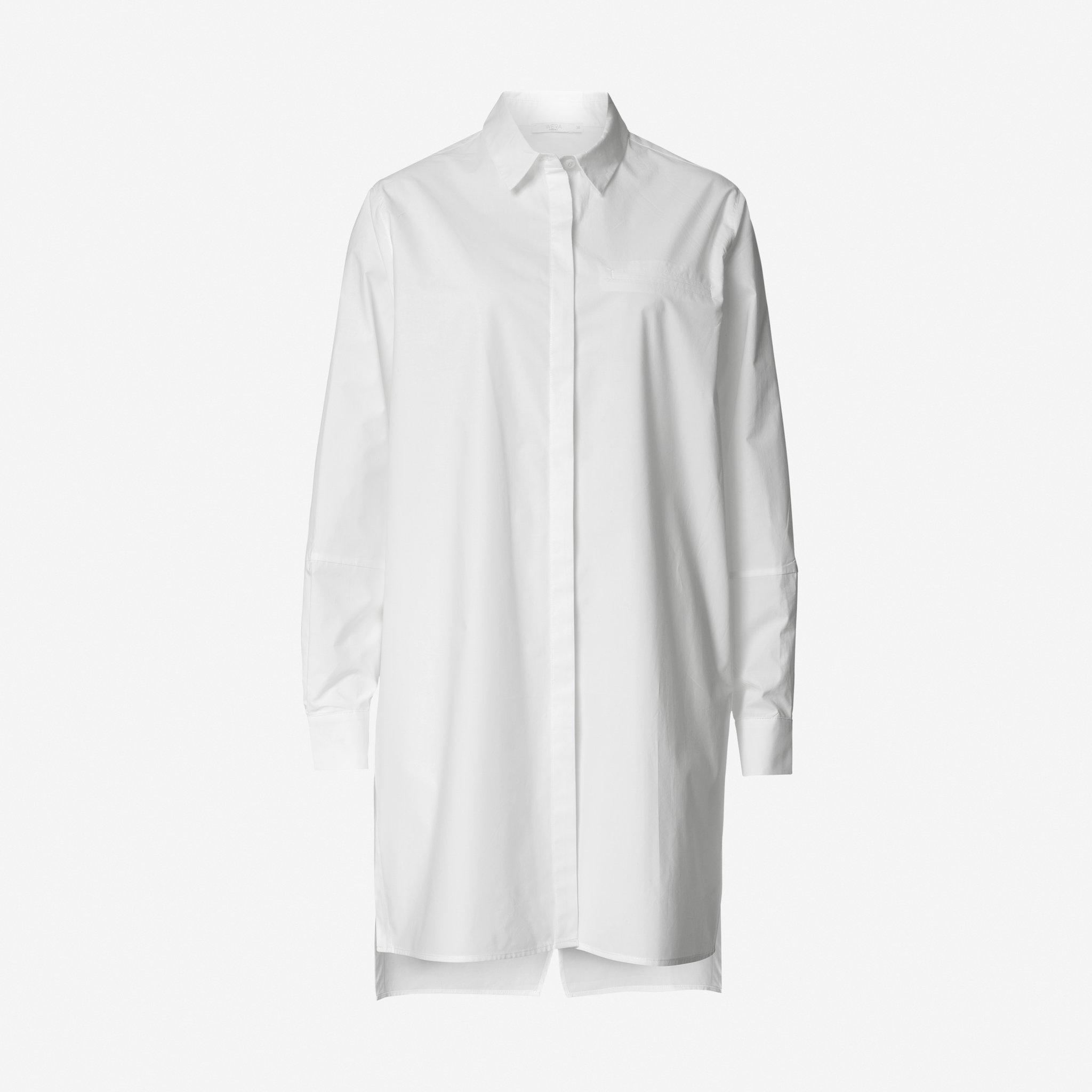 Skjorta i lång modell - Blusar   skjortor - Köp online på åhlens.se! e8bdc8a32220e