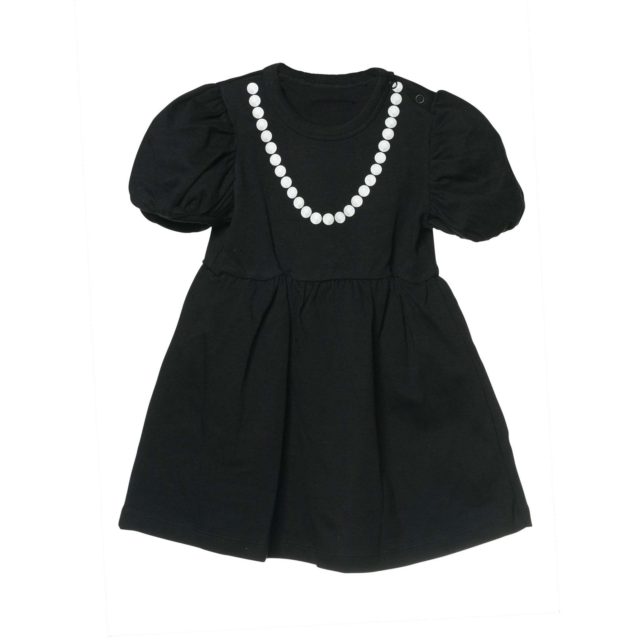 svart klänning baby