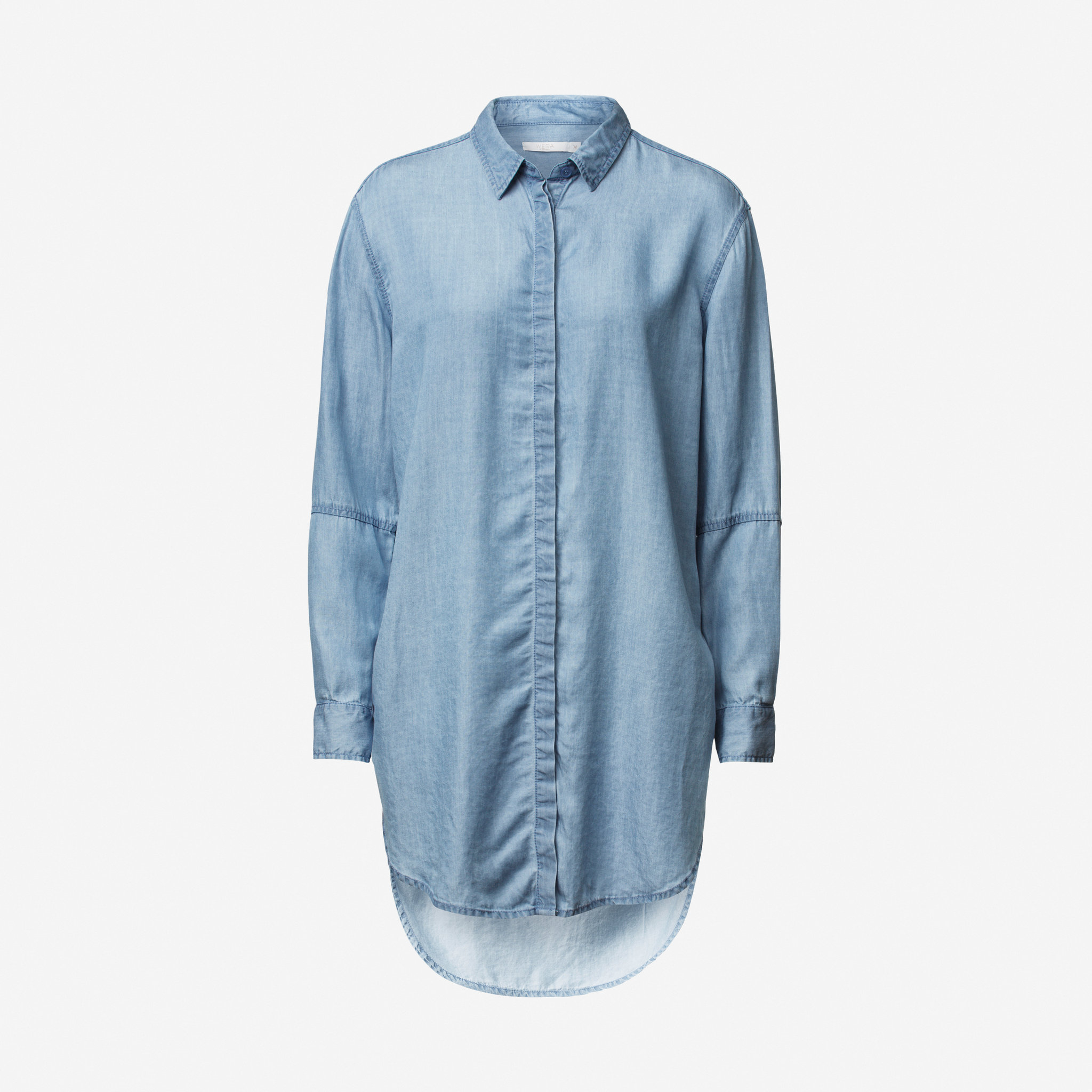 Jeansskjorta - Blusar   skjortor - Köp online på åhlens.se! dc6fd184a9644