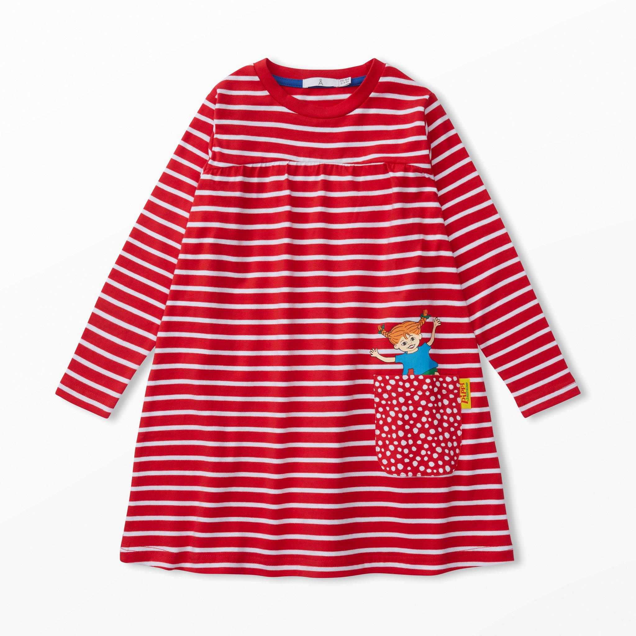 9b8b8bcaf0d0 Klänning Pippi Långstrump - Kläder - Köp online på åhlens.se!