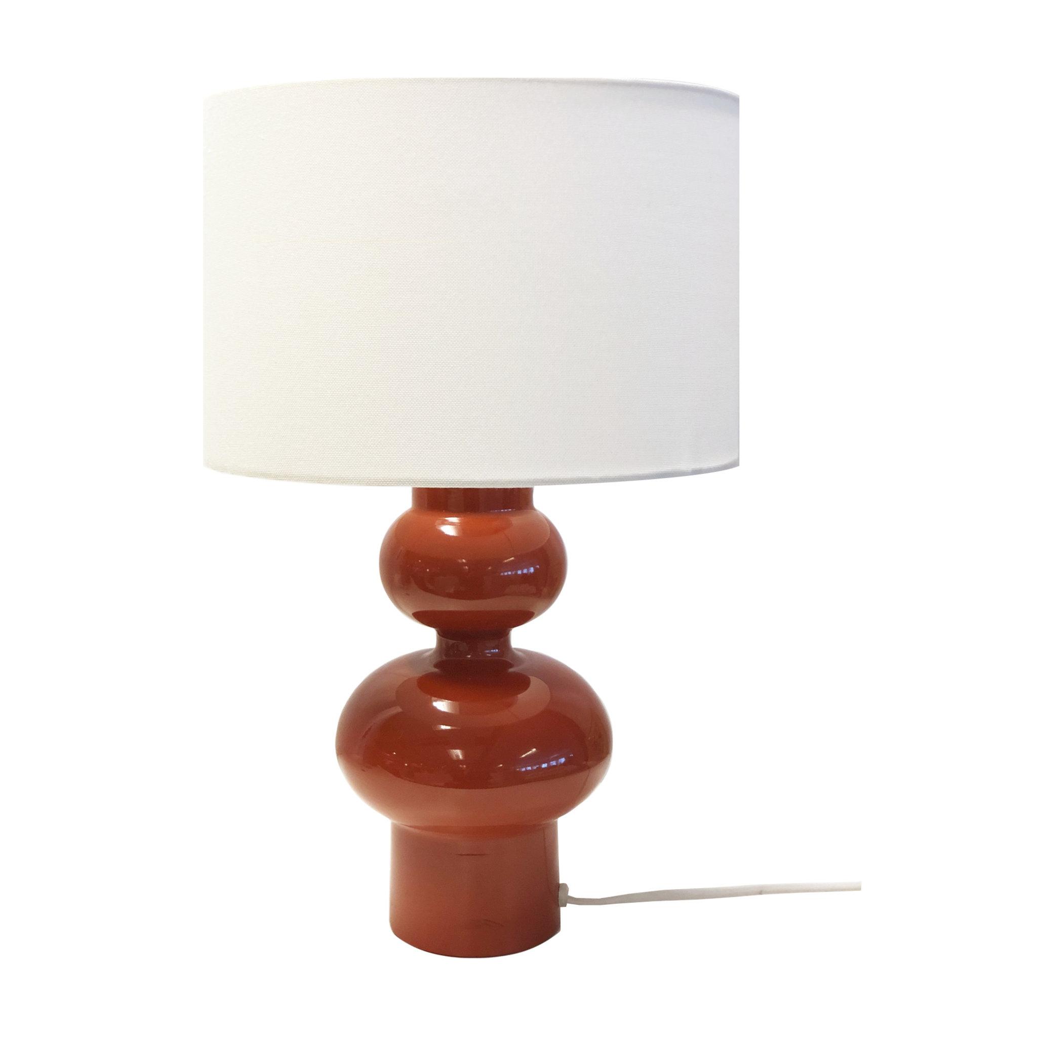 Bordslampa Mette, rost