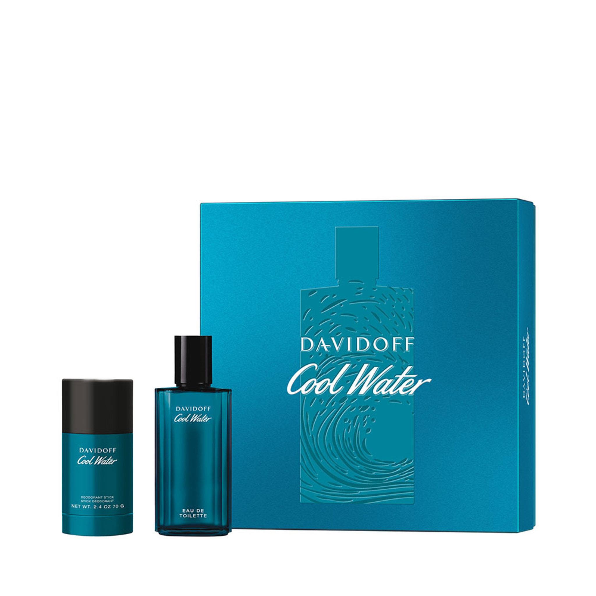 Köp Davidoff Cool Water Man Gift Set: EdT 125ml+Deo Stick