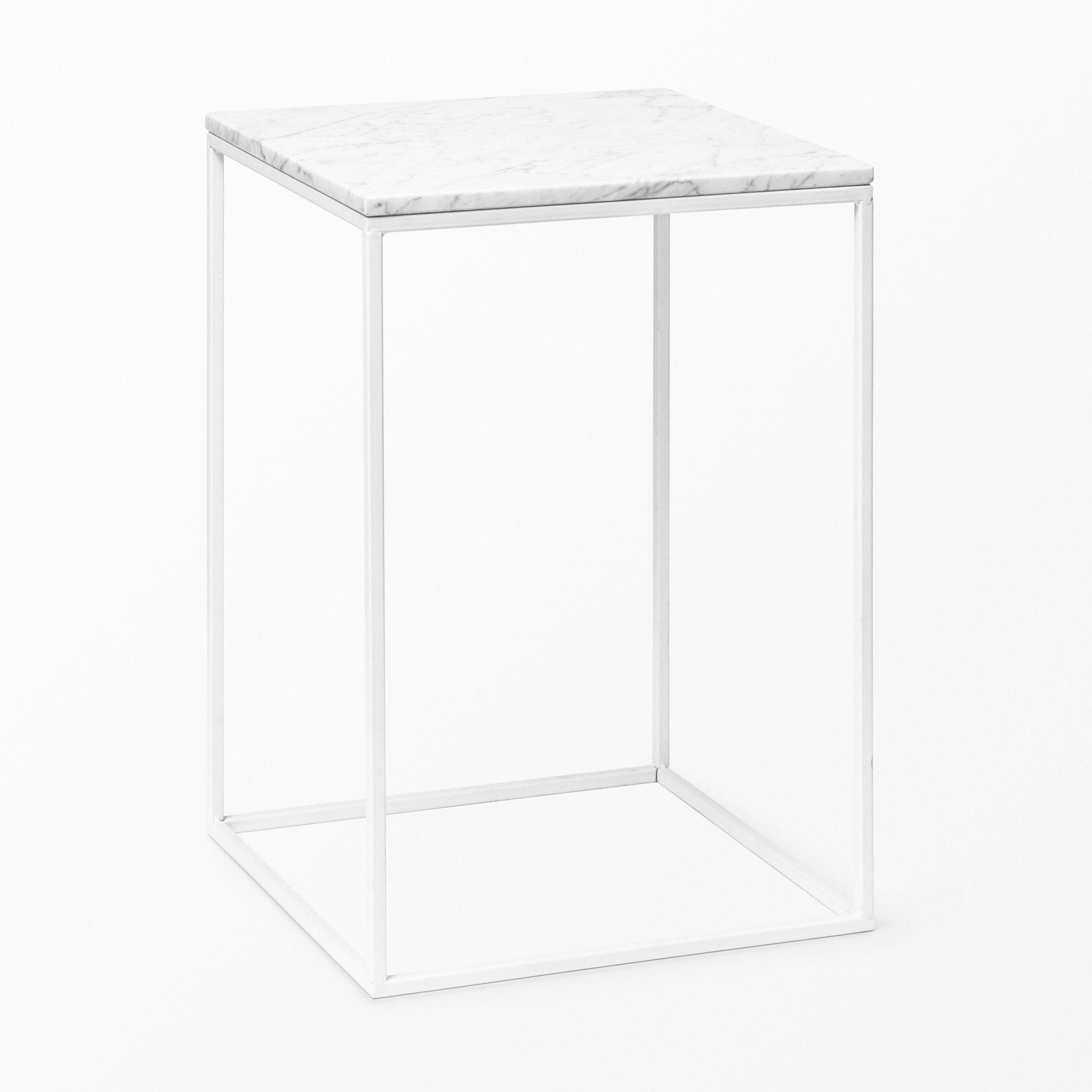 Kända Bord i marmor, 50x35x35 cm - Soffbord - Köp online på åhlens.se! RY-45