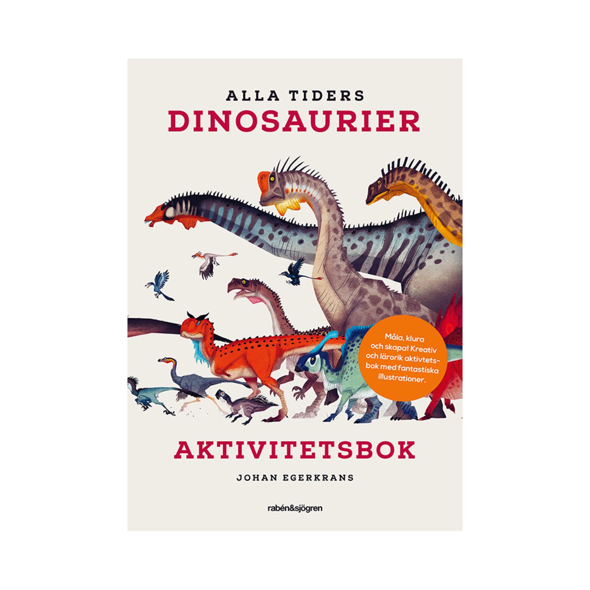 Pysselbok Alla Tiders Dinosaurier Aktivitetsbok