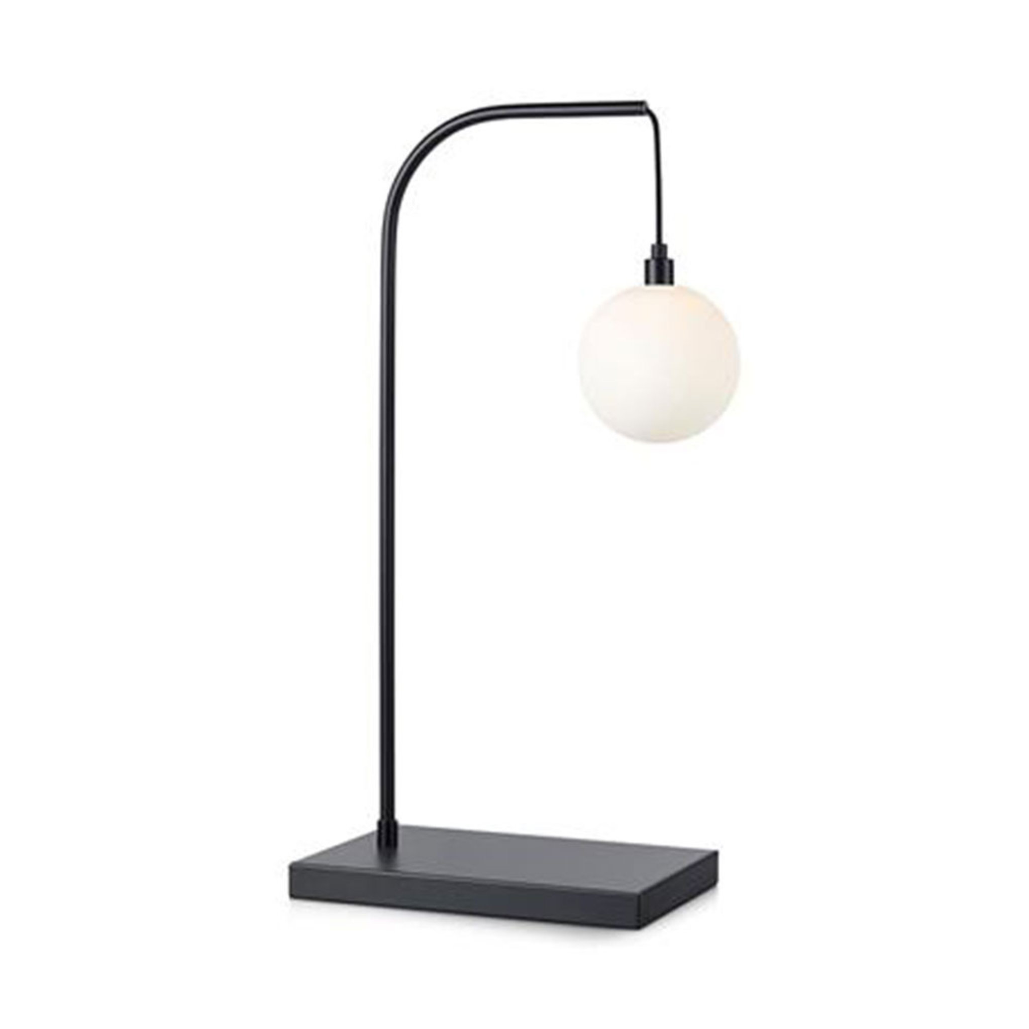 Bordslampa Buddy, svartopal