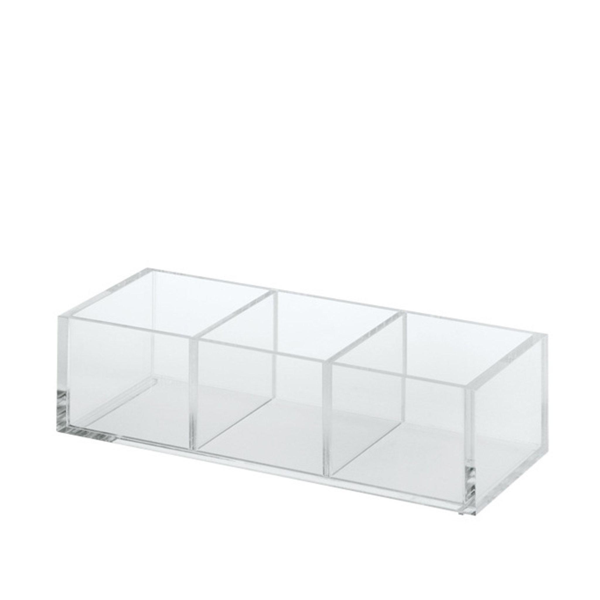 Acrylic Desk Pot - 3 Partitions - Förvaring- Köp online på åhlens.se!