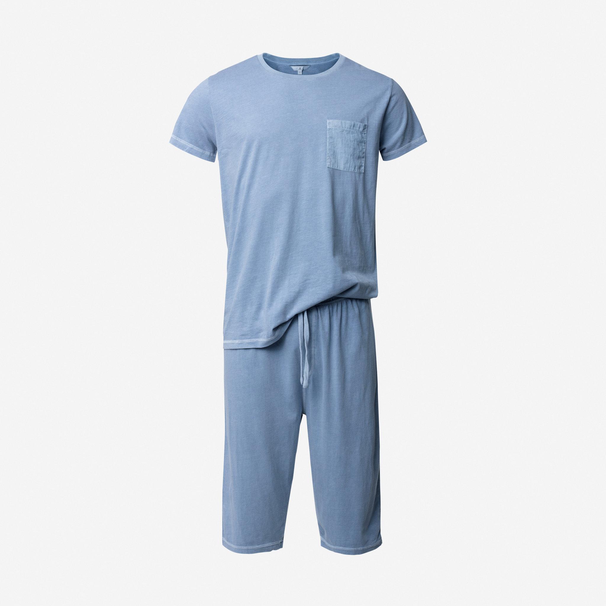 kortärmad pyjamas herr