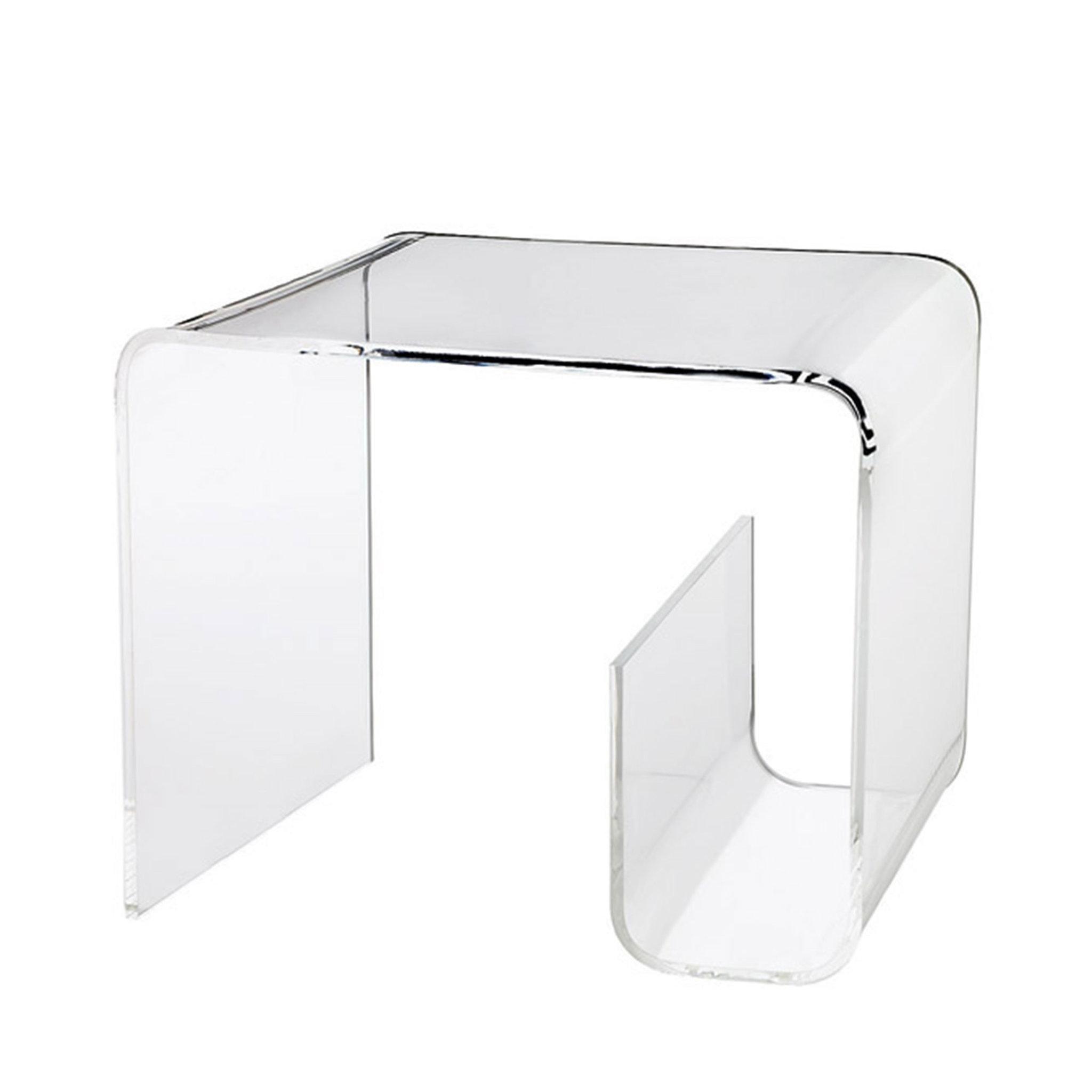 Acrylic Table With Magazine Rack Bord Köp online on ¥hlens