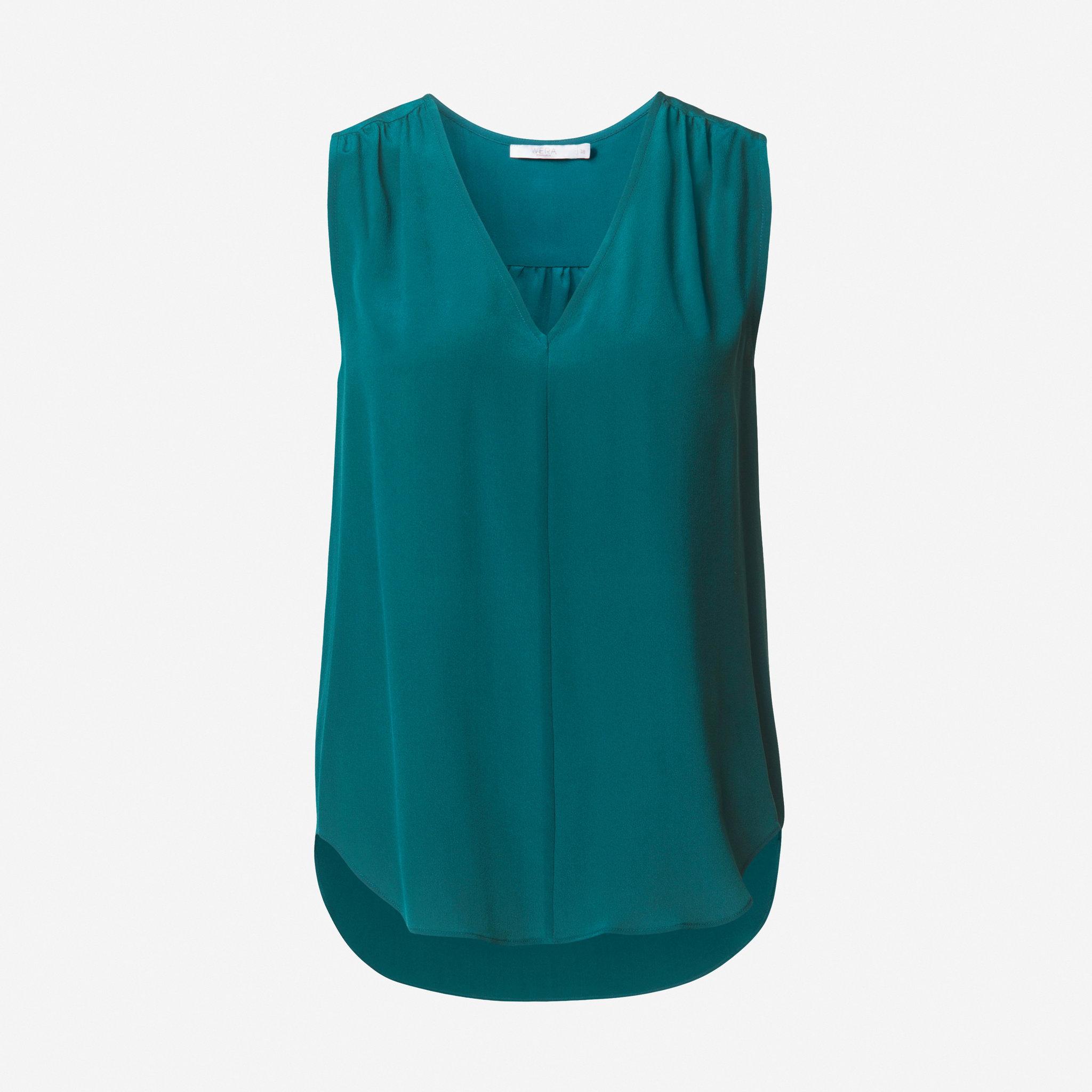 Blus i siden - Blusar   skjortor - Köp online på åhlens.se! 1b58ff77f9606
