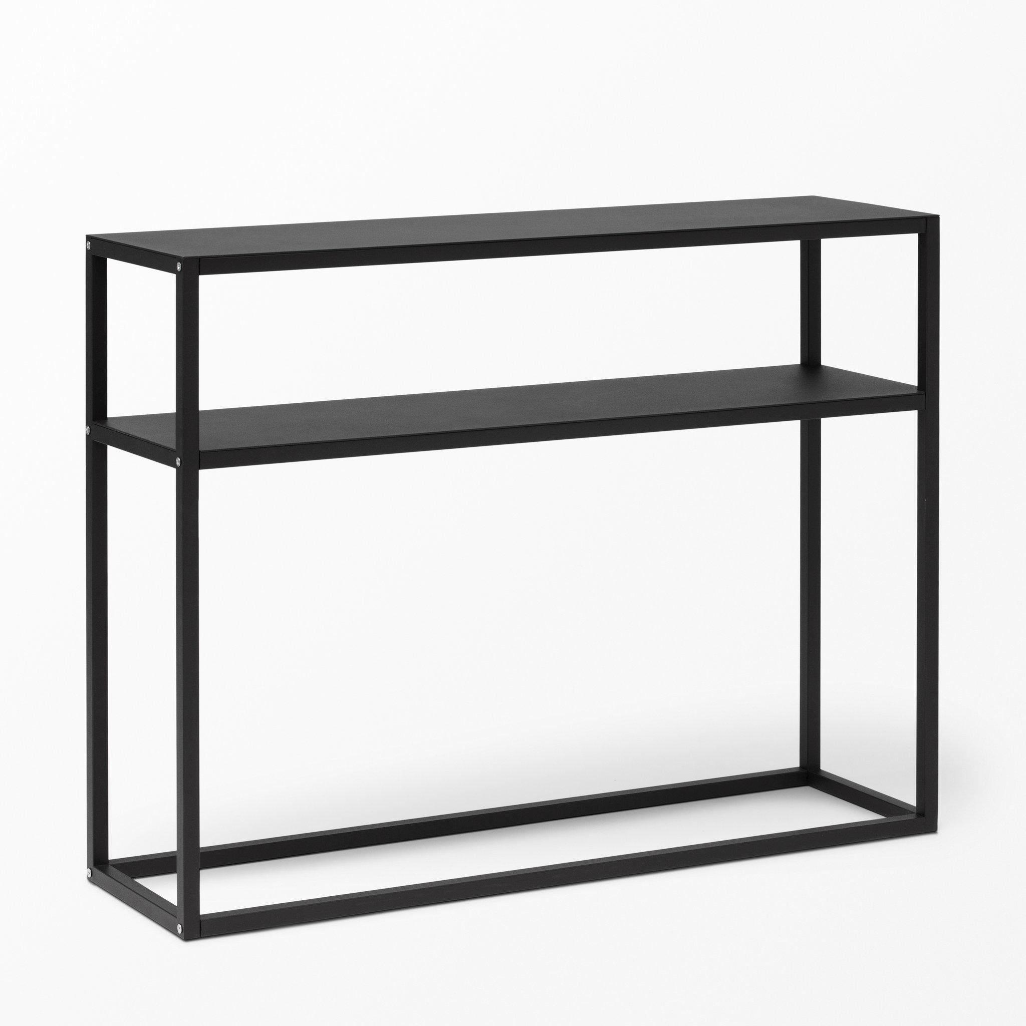 Sideboard svart metall Kakel till kök och badrum
