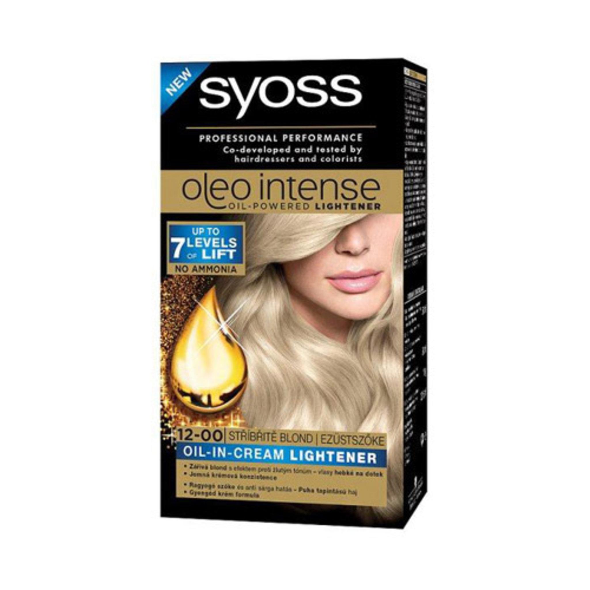 syoss hårfärg blond