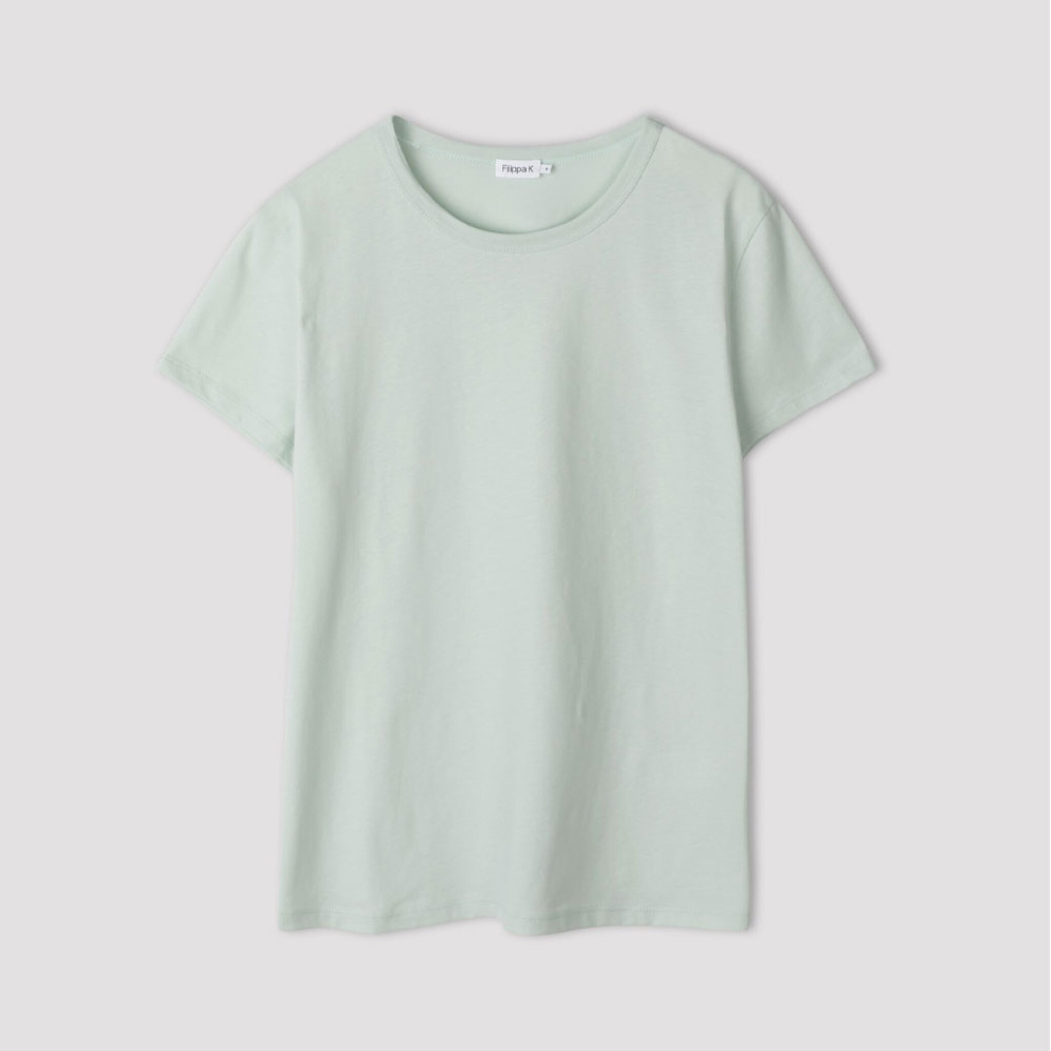 Edna T Shirt, faded turquoise