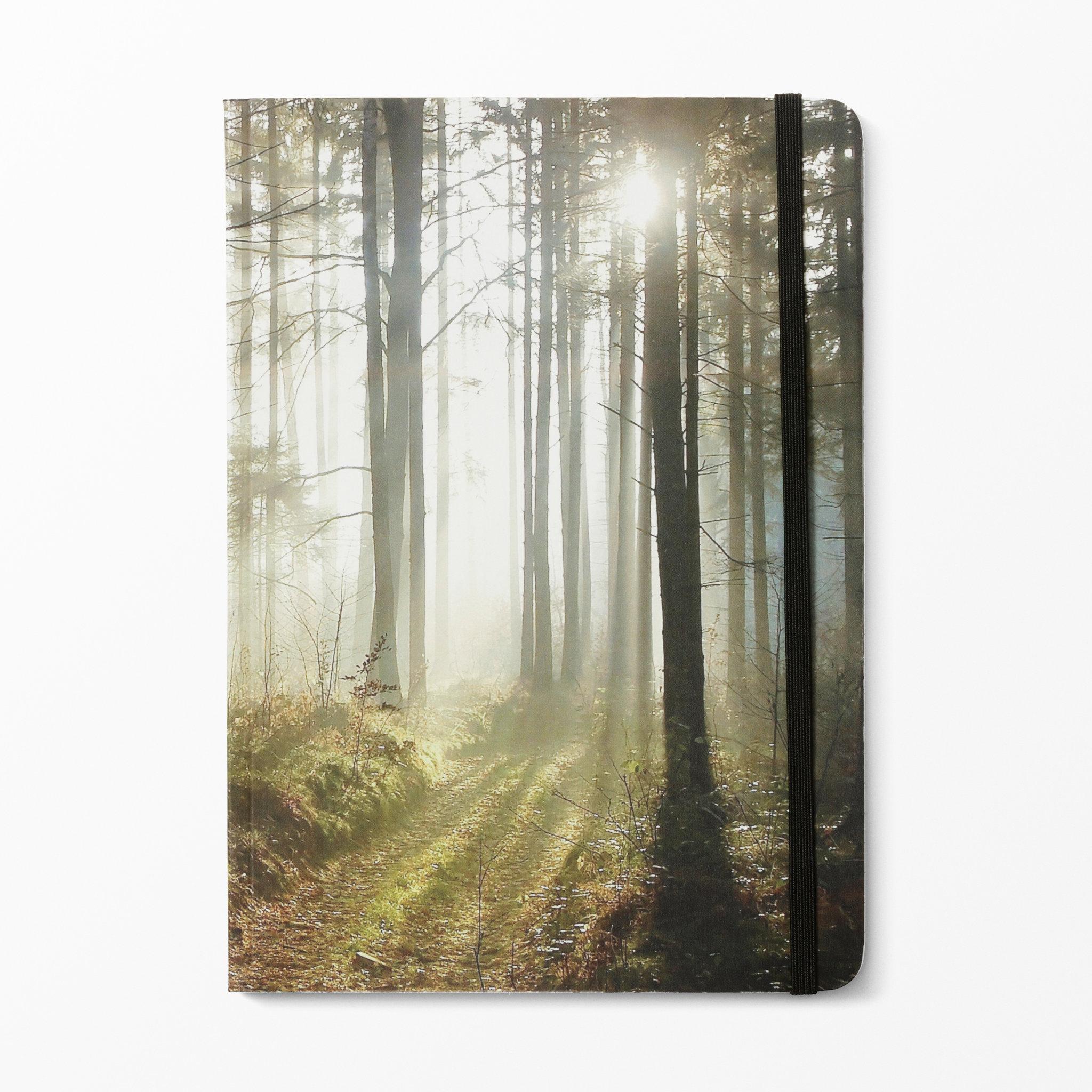 Skrivbok skog, a5   block & anteckningsböcker  köp online på ...