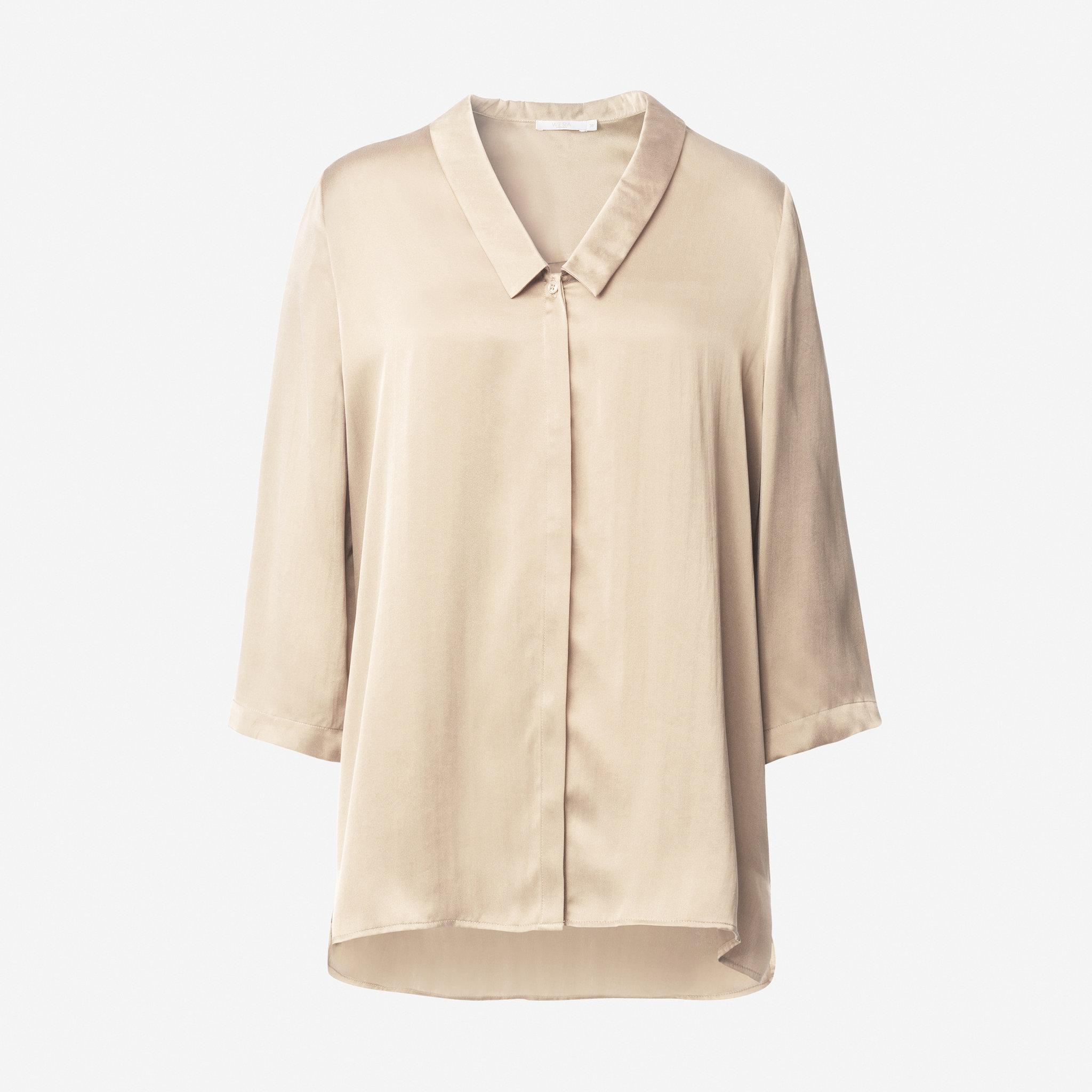 Blus i silke - Blusar   skjortor - Köp online på åhlens.se! f4400570d2b4d