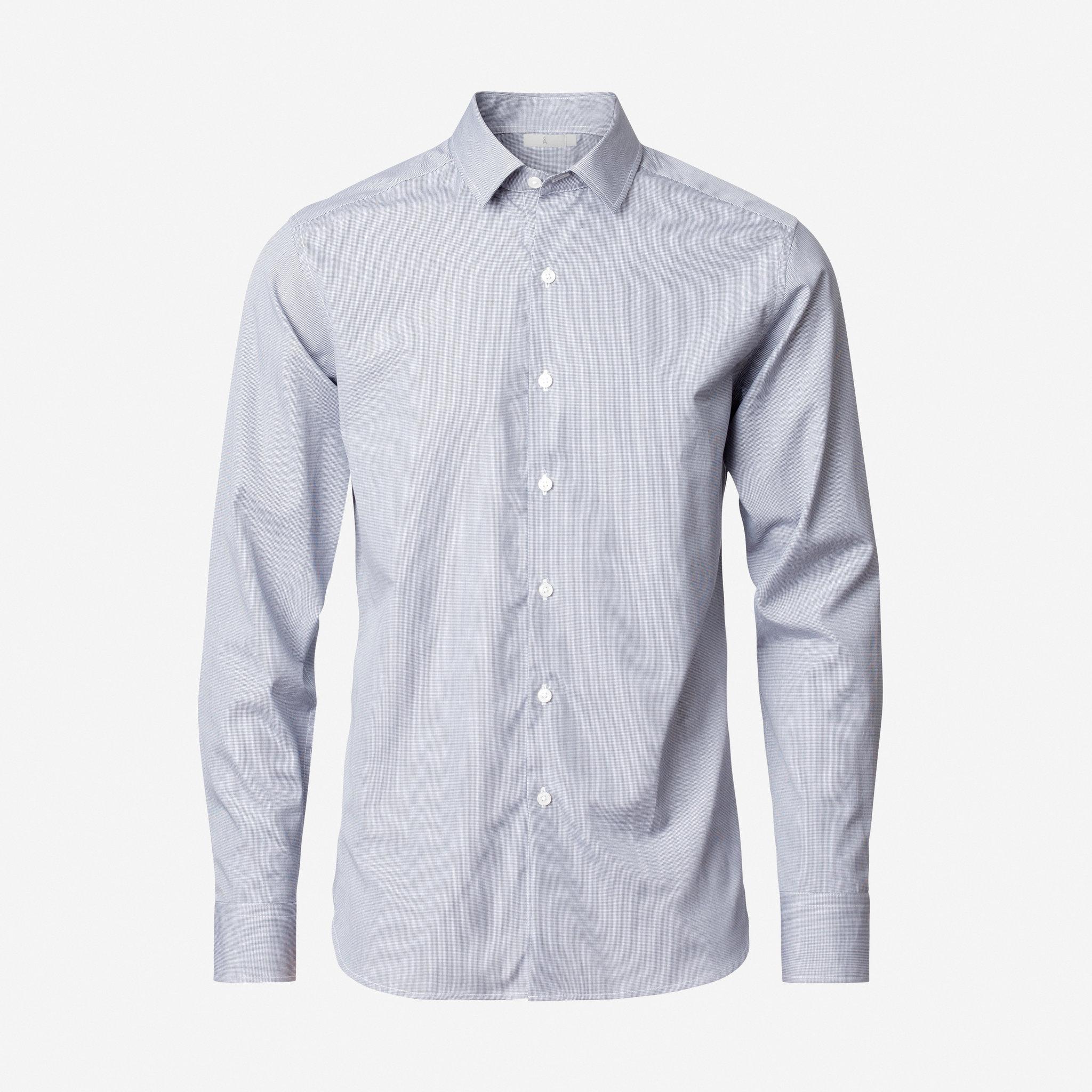 Skjorta med Slim Fit - Skjortor - Köp online på åhlens.se! aa499c6c00d2d