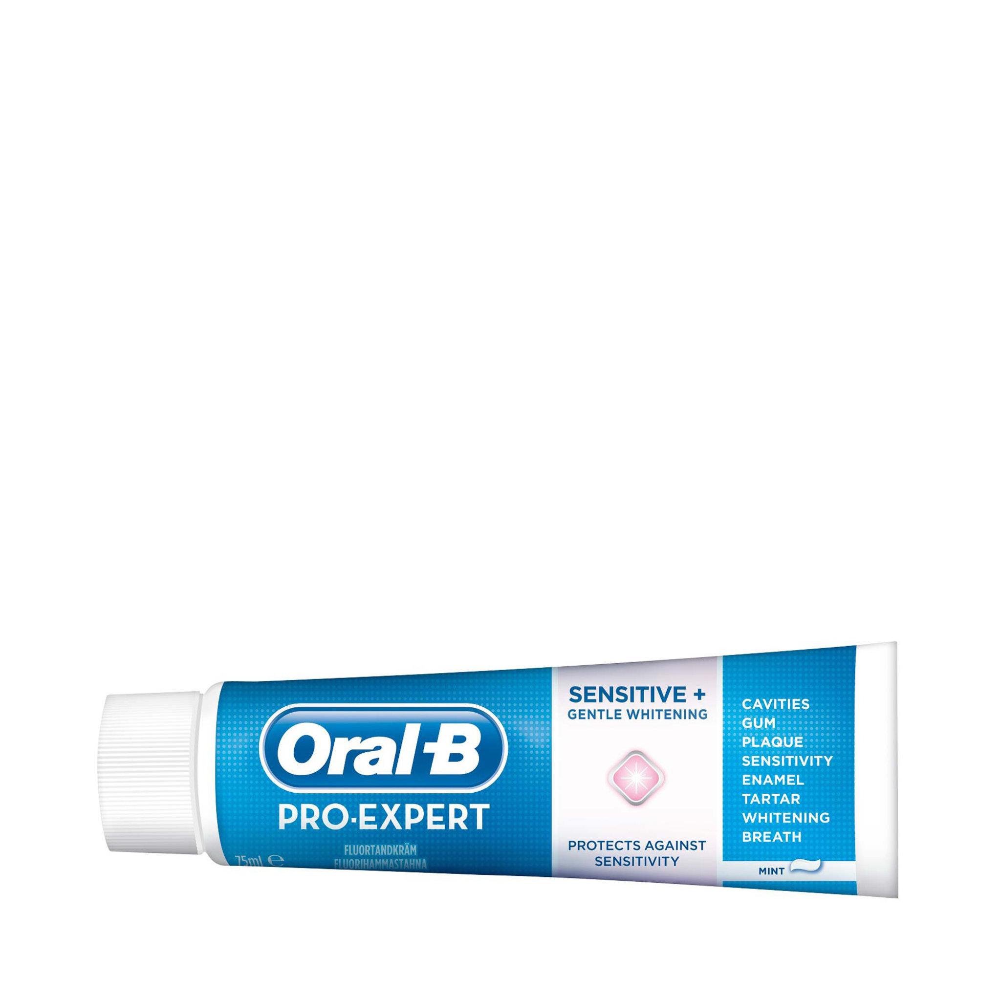 Tandkräm ProExpert Sensitive Gentle White - Munhygien - Köp online på  åhlens.se! f0b40fb4b6ed6