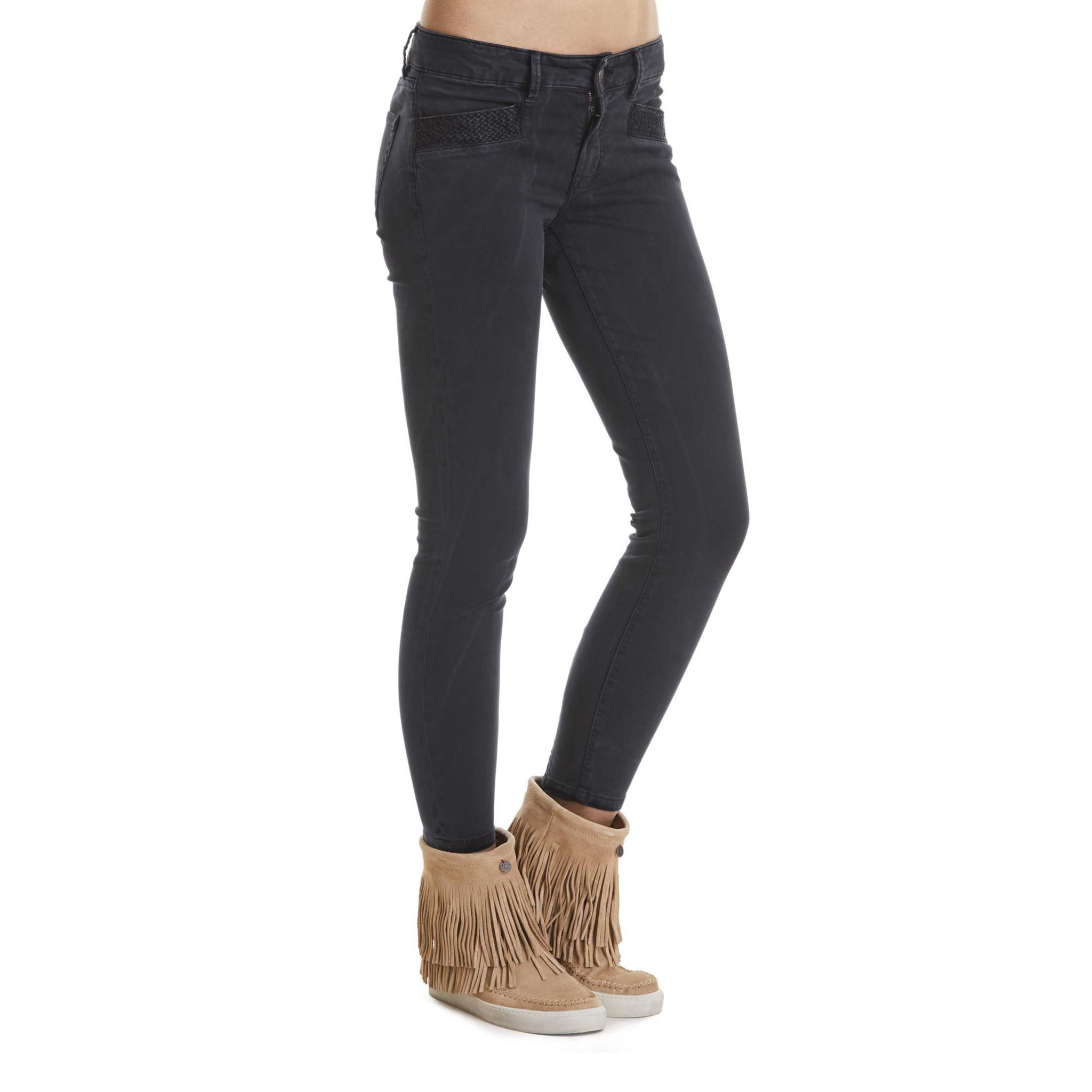 molly jeans svarta