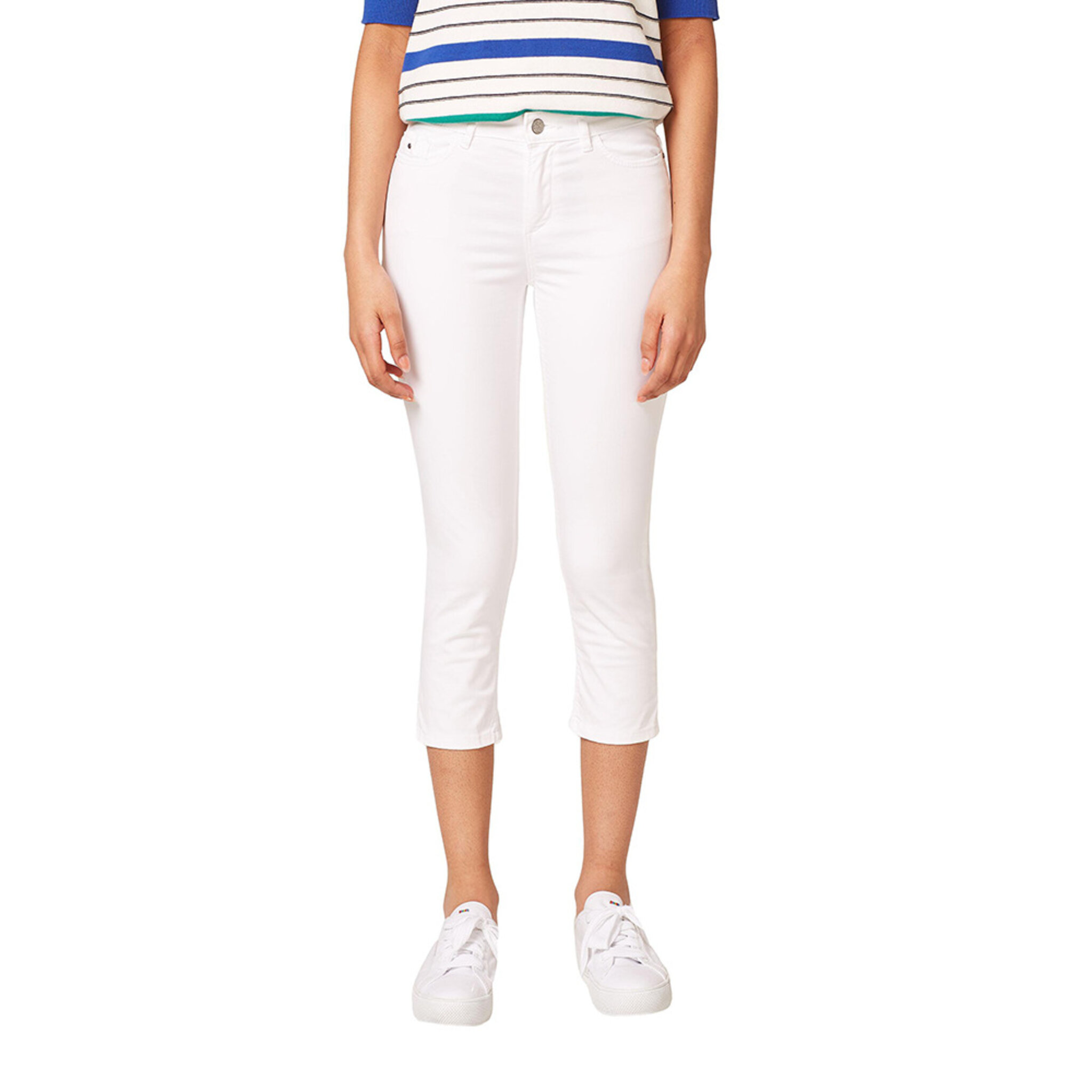 Kort slim byxa - Jeans - Köp online på åhlens.se! 08c2bd4db6a86