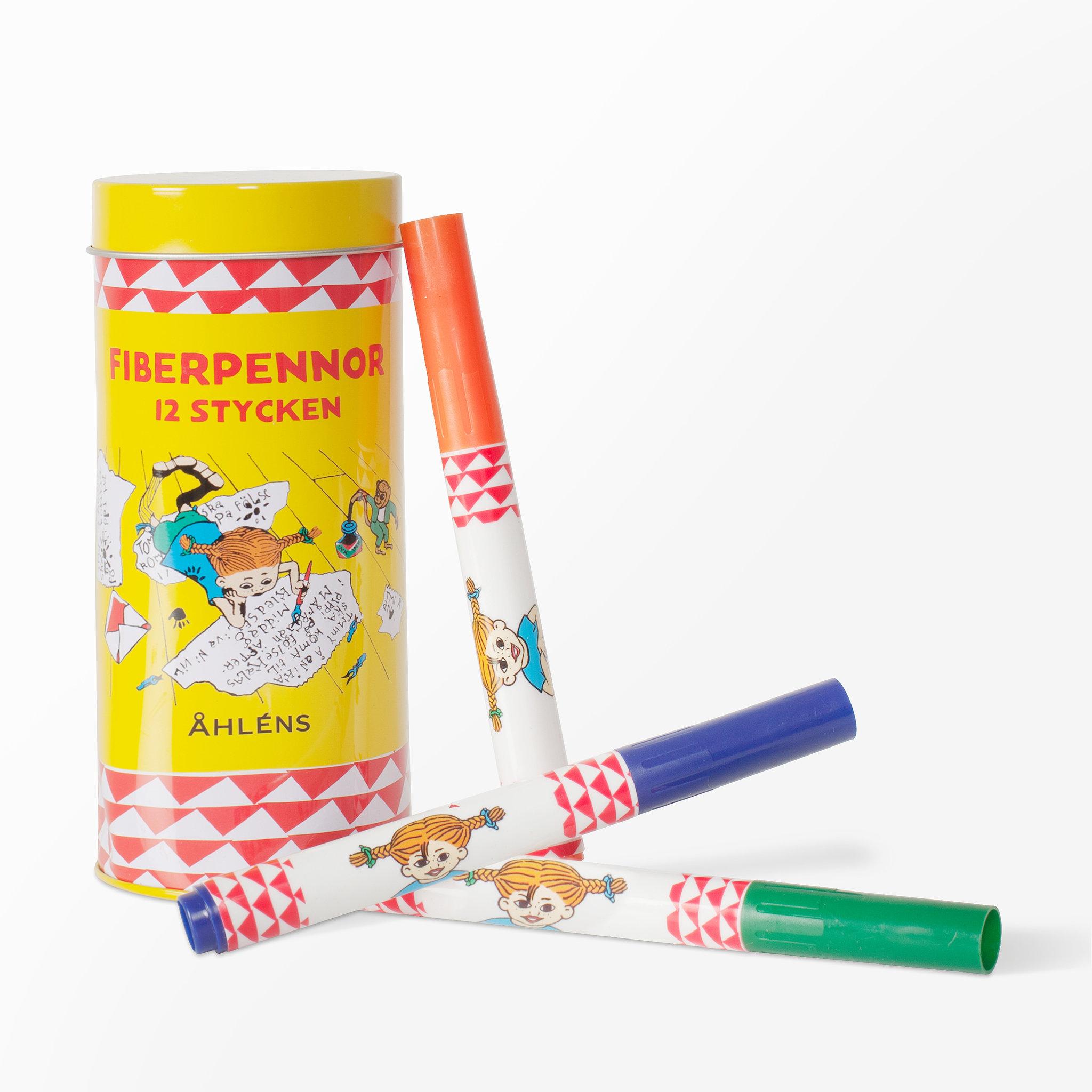 Fiberpennor Pippi Långstrump 3fa040f7cb22f