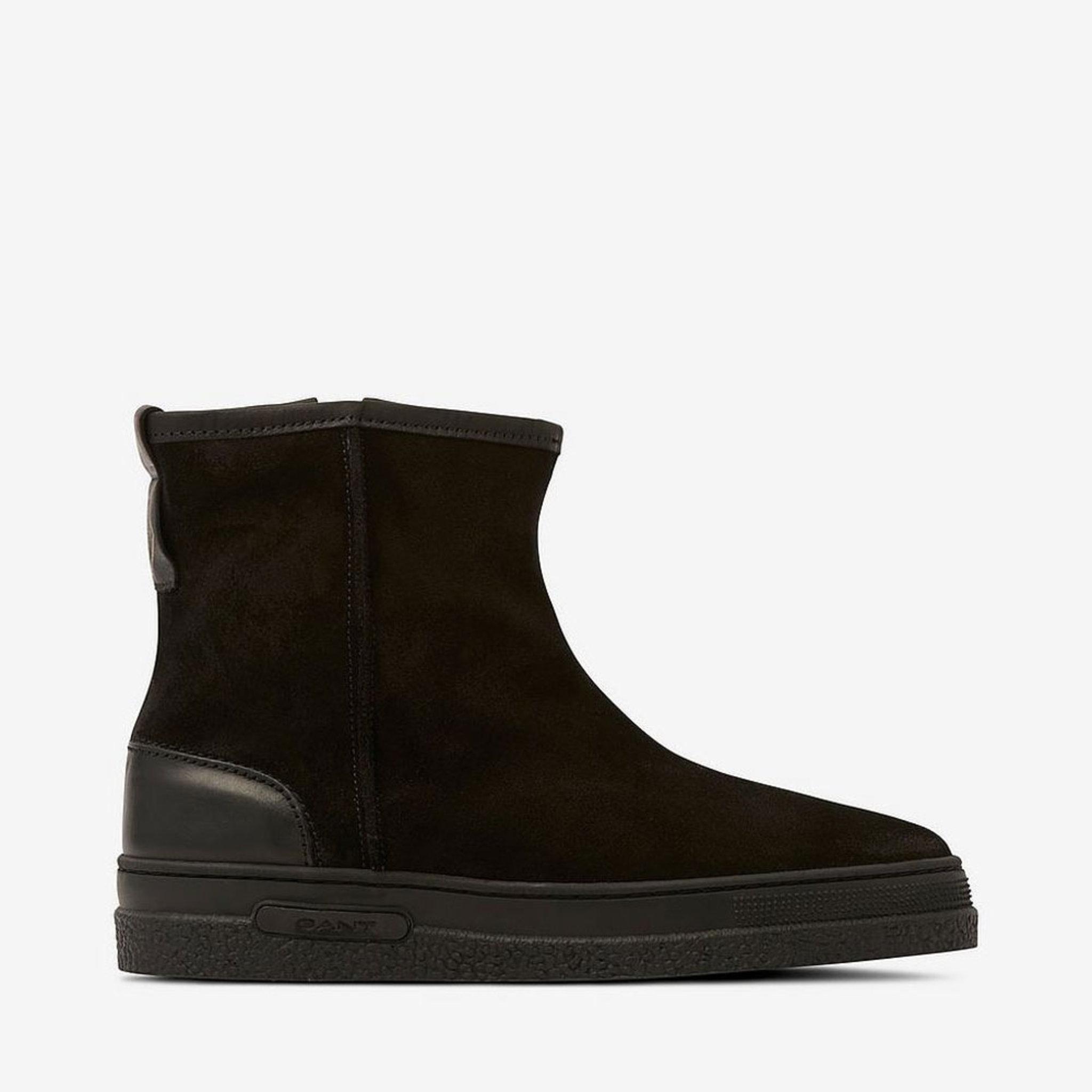 Winter boot Maria zip, svart