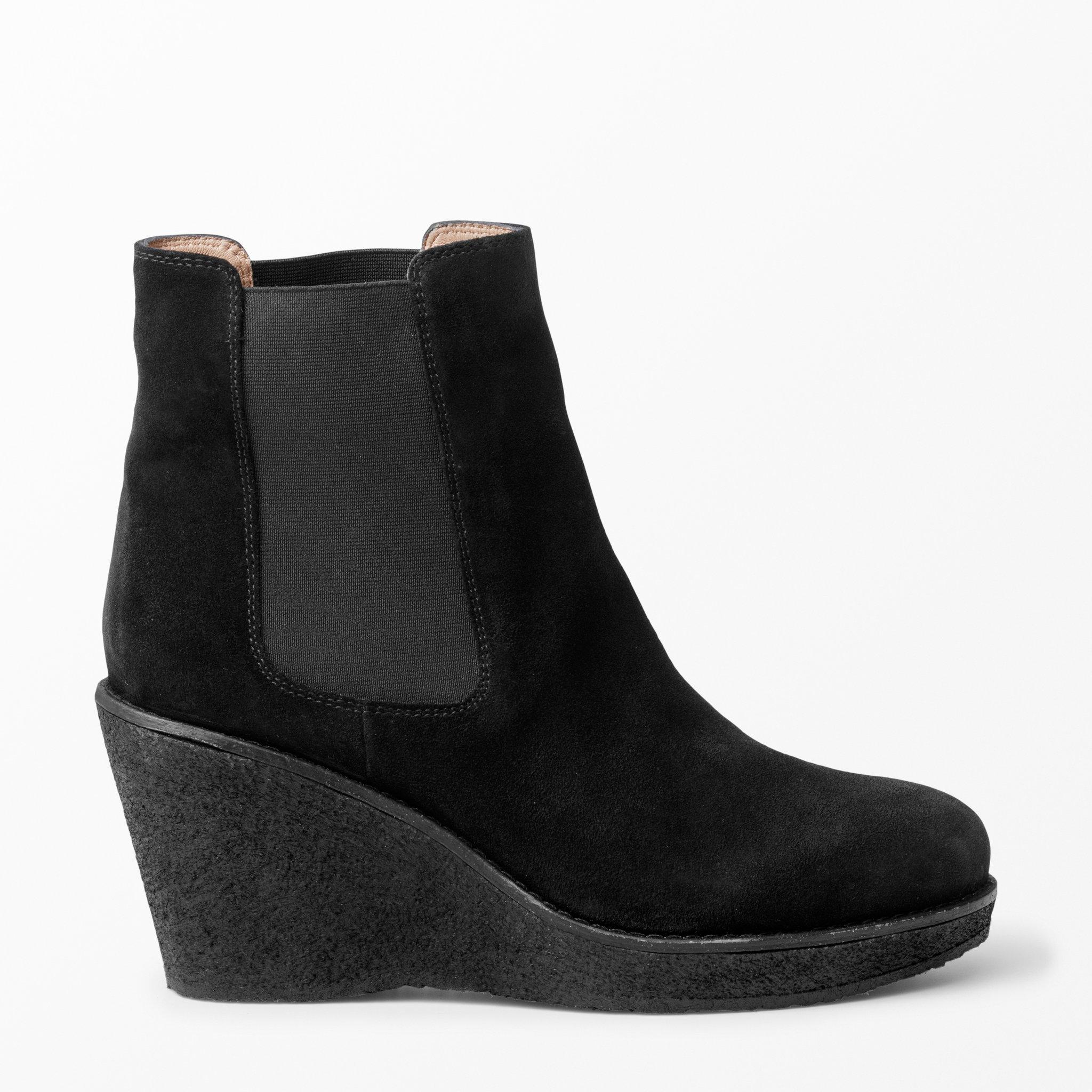 boots med kilklack
