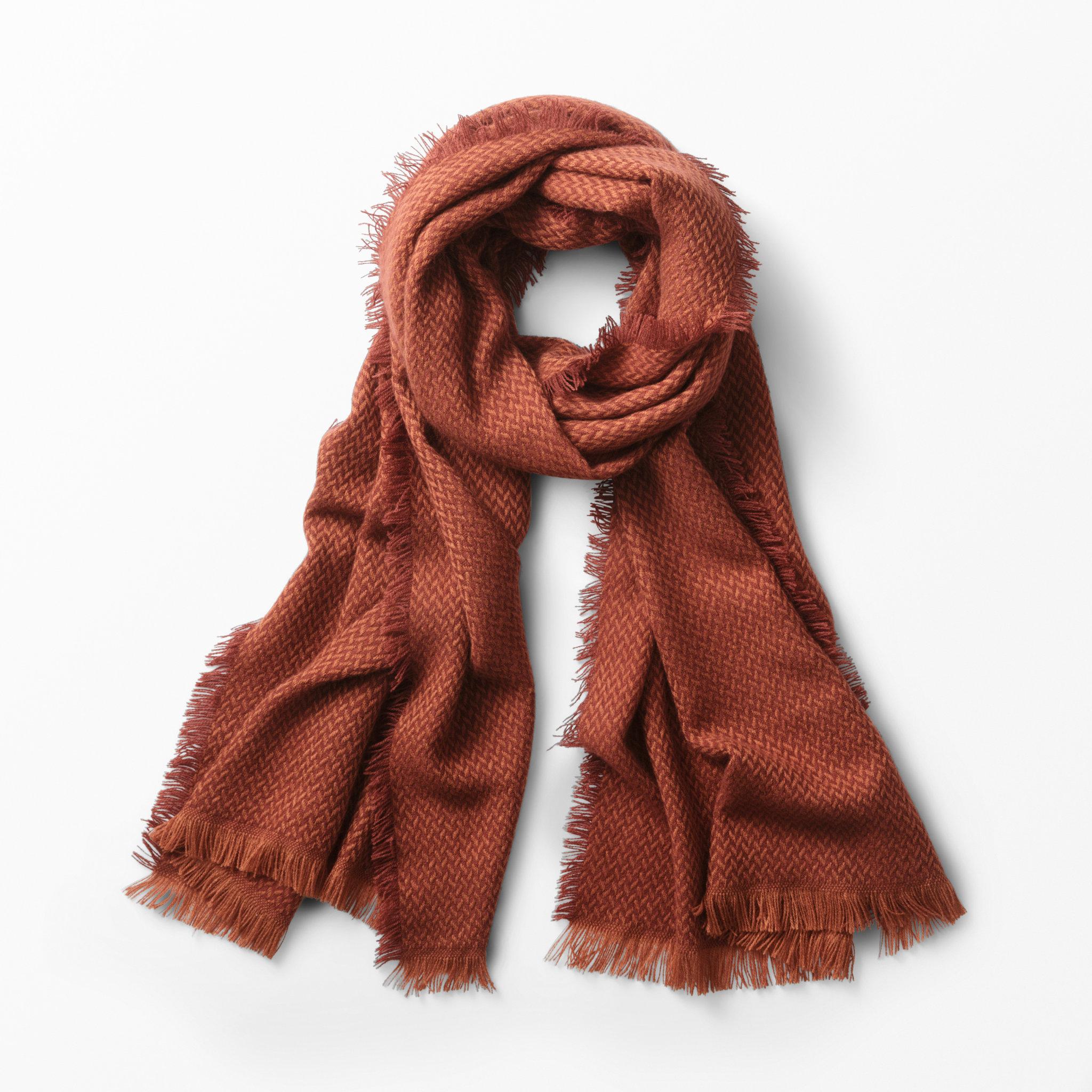 Scarf med fransar - Halsdukar   scarves - Köp online på åhlens.se! c82820d93600c