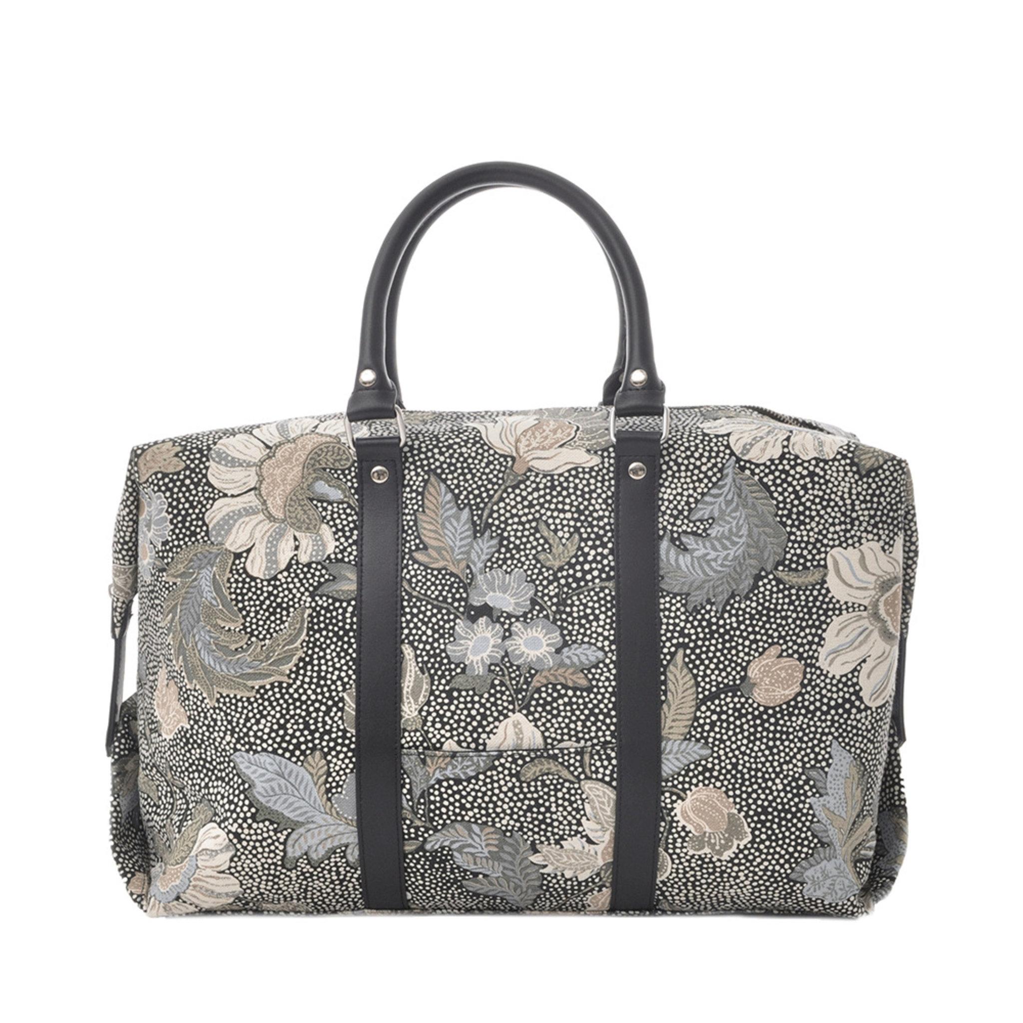 Boston Bag Black Flower Linen - Weekendväskor - Köp online på åhlens.se! c05e821f06eb0