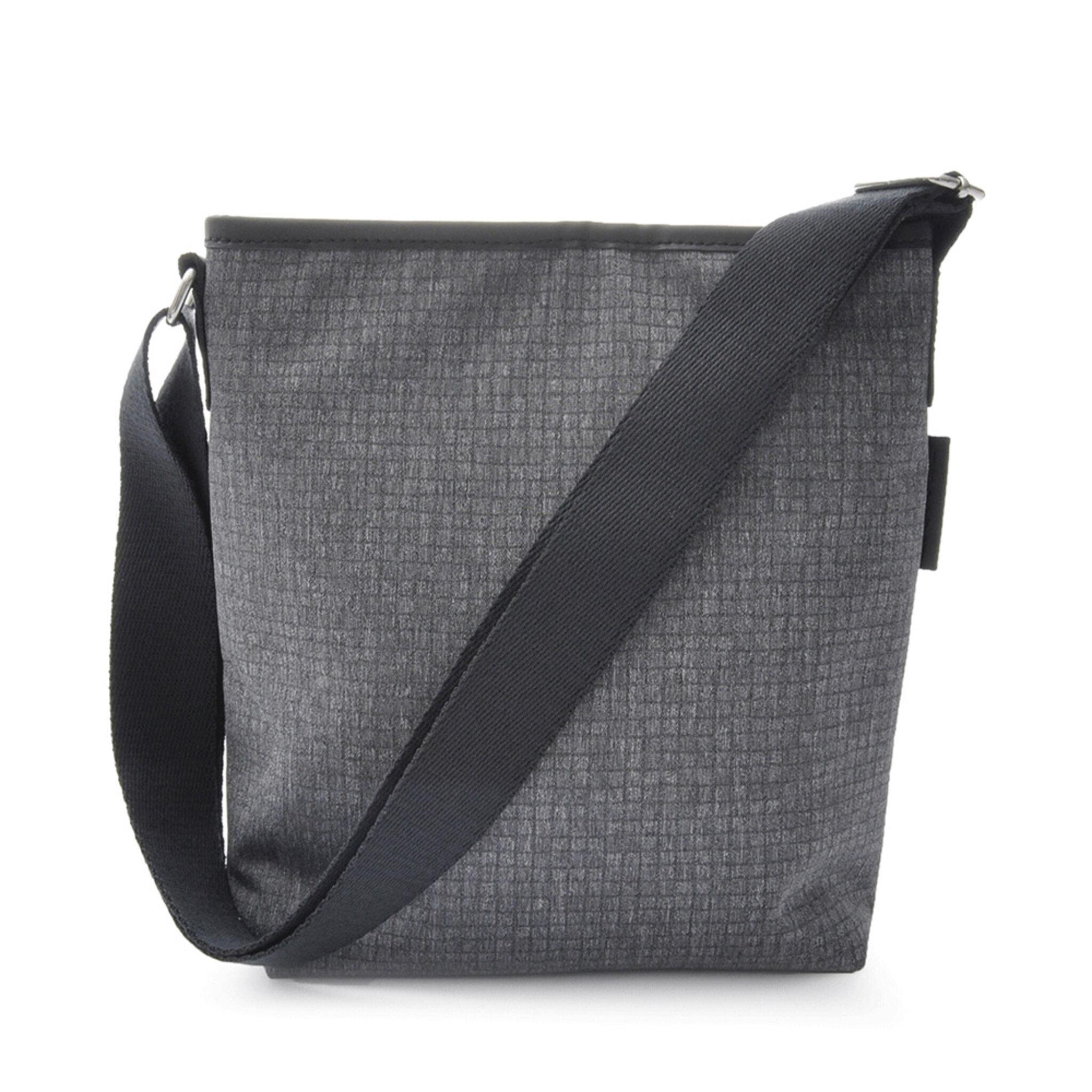 Small Shoulder Bag Grey Adele Collection, grå
