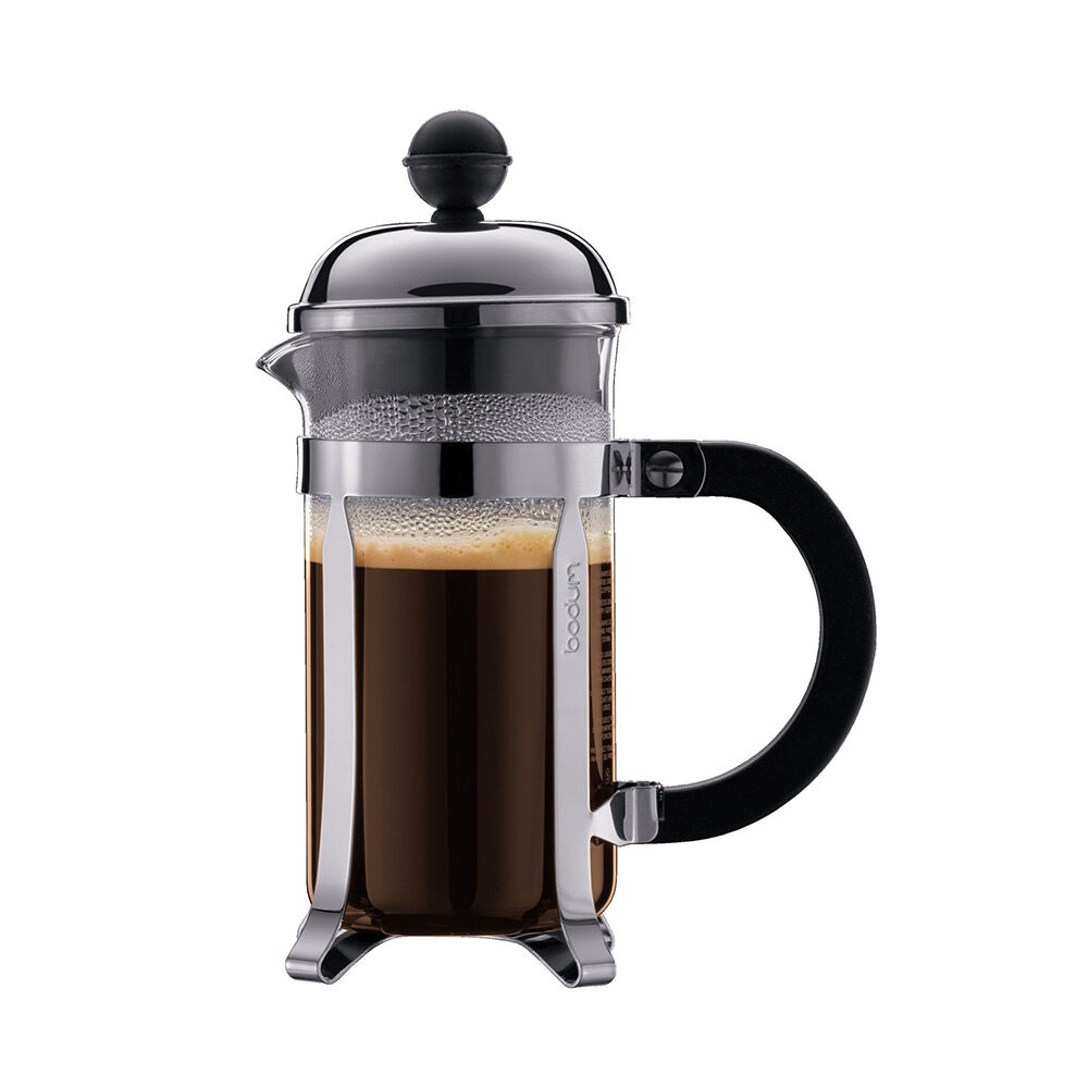 Kaffebryggare Chambord, 3 koppar Kaffepressar