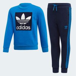 Crew Sweatshirt Set, blå