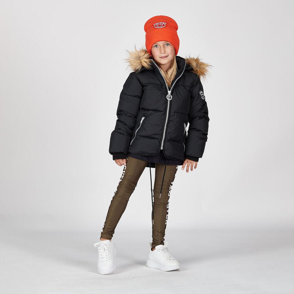 K. Short Slim Jacket, black