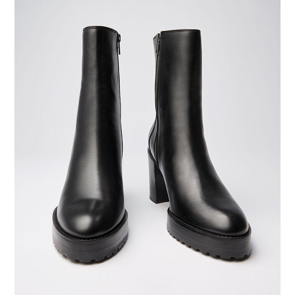 Chunky Boot Nappa Blk, black