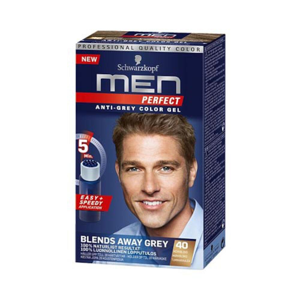 hårfärgning för män