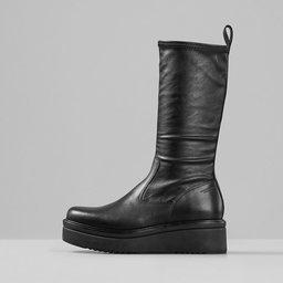TARA Boots Heel Chunky, svart