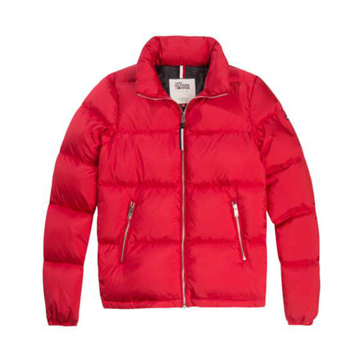 Durable Polyester Down Jacket, mörkrosa