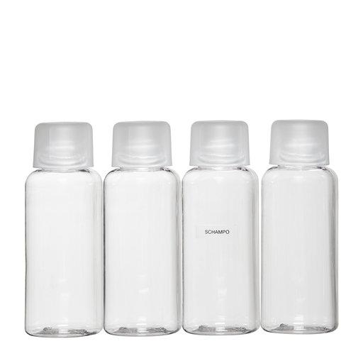 små förpackningar schampo