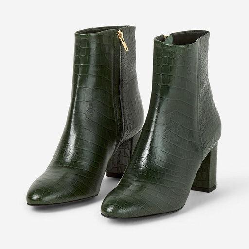 Boots, Miranda High Bootie, grön