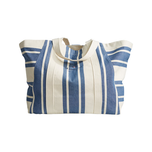 Beachway Bag, bluewhite stripe