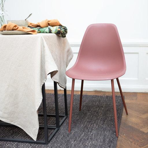 Stol, Uno 48 cm, vinröd