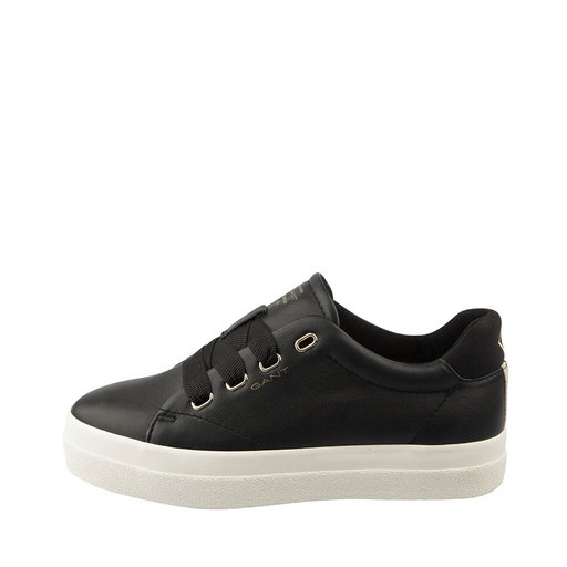 Sneakers, Aurora Low lace, svart