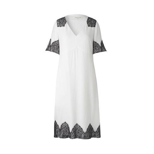 A Line Dress, elfenbensvit