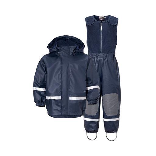 Fodrat Regnställ Boardman, marinblå