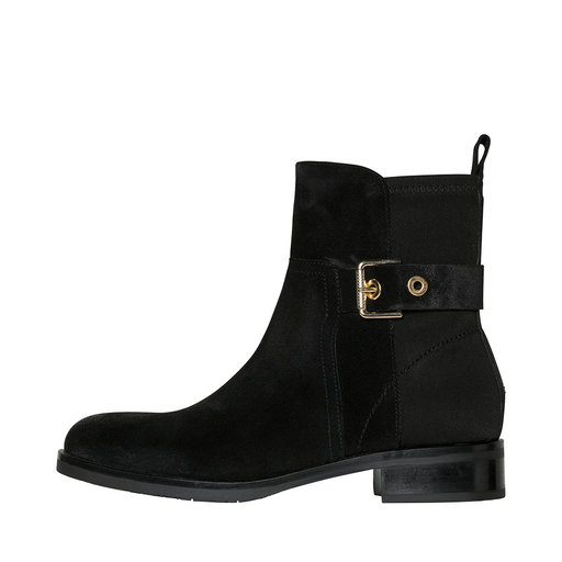 Suede Boots, svart