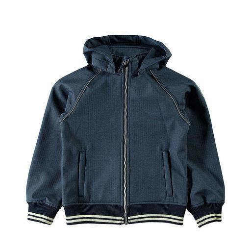 Nitalfa Softshell Bomber Jacket, mörkblå