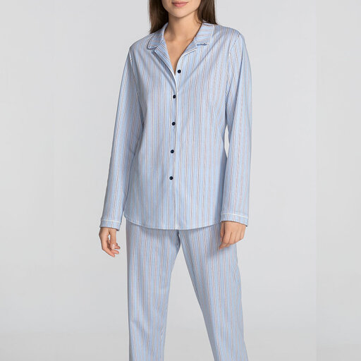 klassisk pyjamas dam