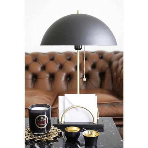 Bordslampa Sarah, 50x34 cm, svart