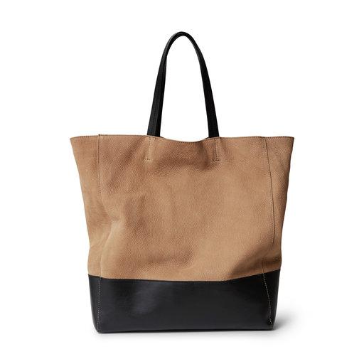 Väska, beige