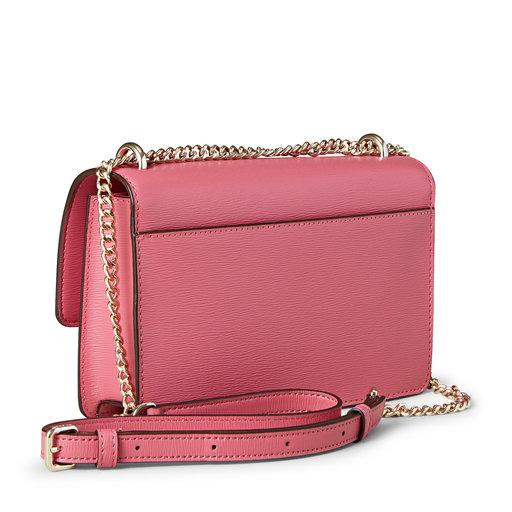 Small Chain Flap Bag, rosa
